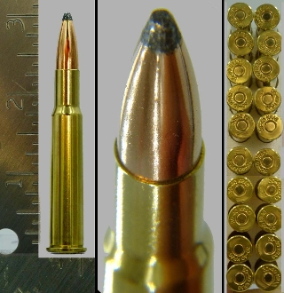 .30-40 KRAG, .30 Army, new production, JSP, Box of 20 Cartridges