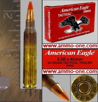 5.56 NATO by Federal, Tracer, Box of 20 Cartridges