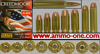 Creedmoor Ammuntion 8 Cartridge Assortment