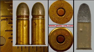 .476 Enfield or .476 Eley, One Cartridge