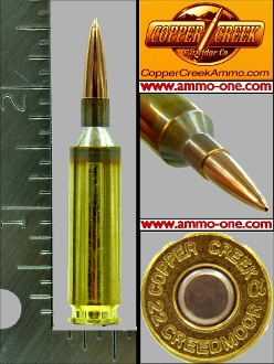 .22 Creedmoor by C.C.Co., 90gr JHP, One Cartridge, not a Box!