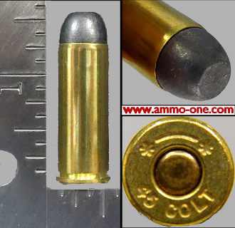 .45 Colt, 200gr. Lead by G.L., One Cartridge not a Box!
