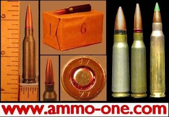 5.45x39mm Russian, 53gr. Steel Core, One cartridge , not a box!