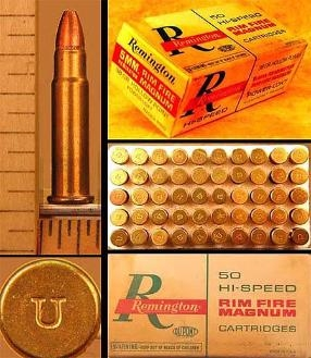 5mm Remington Magnum Rimfire by Remington, One Box of 50 ct.